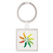 Colorful Peppers Keychains