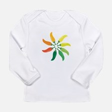 Colorful Peppers Long Sleeve T-Shirt