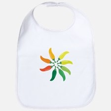 Colorful Peppers Bib