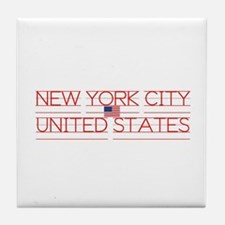 NEW YORK CITY UNITED STATES Tile Coaster