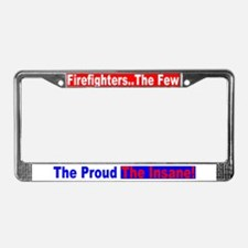 Fire Dept. License Plate Frame