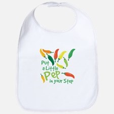 Pep In Your Step Bib