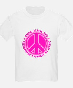 Summer of Love Pink T-Shirt