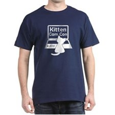 Kitten Cam Con Men's T-Shirt