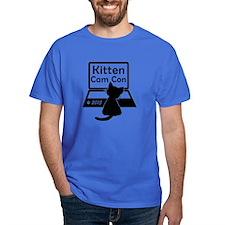 Kitten Cam Con Men's T-Shirt