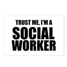 Trust Me, I'm A Social Worker Postcards (Package o
