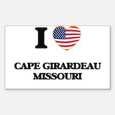 I love Cape Girardeau Missouri Decal