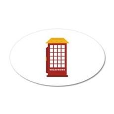 Telephone Booth Wall Decal