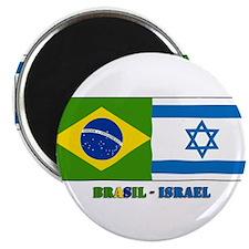 Brasil Israel Magnet