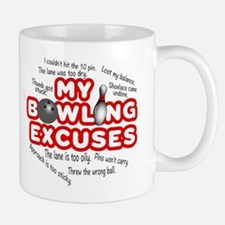 MY BOWLING EXCUSES Mugs