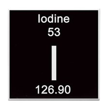 53. Iodine Tile Coaster
