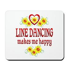 Line Dancing Happiness Mousepad