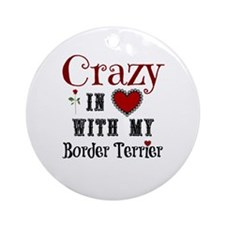 Border Terrier Ornament (Round)