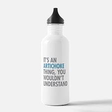 Artichoke Thing Water Bottle