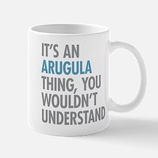 Arugula Thing Mugs