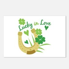 Lucky In Love Postcards (Package of 8)