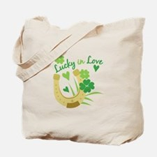 Lucky In Love Tote Bag
