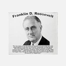 FDR: Powerless Throw Blanket