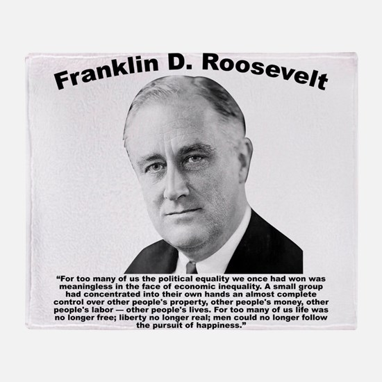 FDR: Powerless Throw Blanket