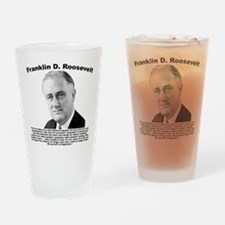 FDR: Powerless Drinking Glass
