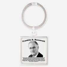 FDR: Powerless Square Keychain
