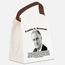 FDR: Powerless Canvas Lunch Bag