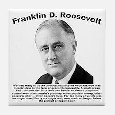 FDR: Powerless Tile Coaster