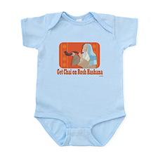 Get Chai On Rosh Hashanah Infant Bodysuit