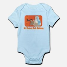 Get Chai On Rosh Hashanah Infant Bodysuit