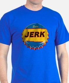SODA JERK Dark Color Tee Shirt