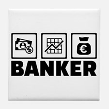 Banker Tile Coaster