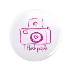 I Flash People Button