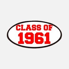 CLASS OF 1961-Fre red 300 Patch