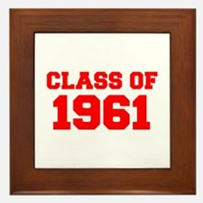 CLASS OF 1961-Fre red 300 Framed Tile