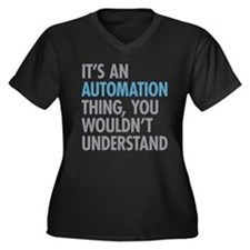 Automation Thing Plus Size T-Shirt