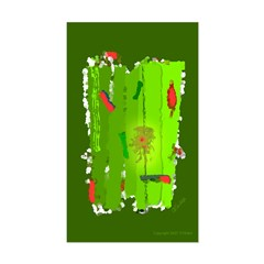 Absinthe Surfing Rectangle Decal
