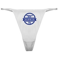 World's best banker Classic Thong