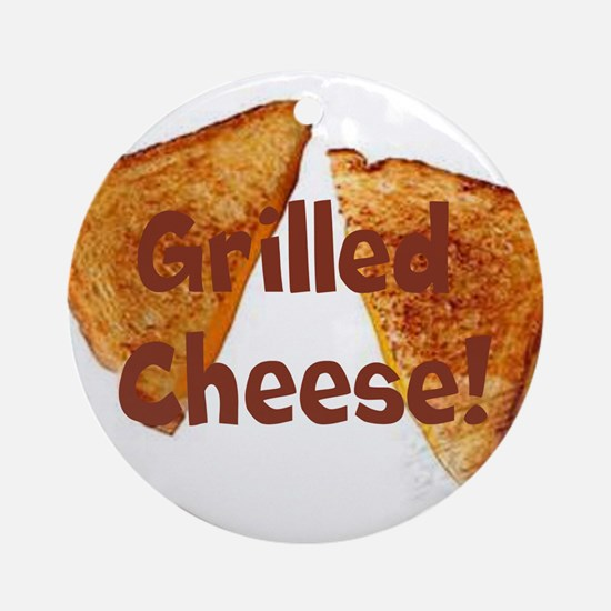 Grilled cheese Ornament (Round)