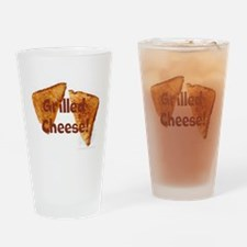 Grilled cheese Drinking Glass