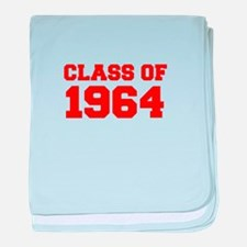 CLASS OF 1964-Fre red 300 baby blanket