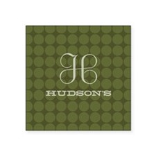"Hudson's Square Sticker 3"" x 3"""