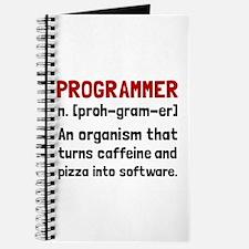 Programmer Definition Journal