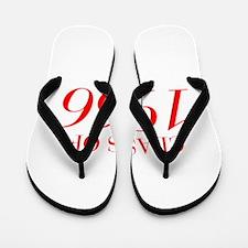 CLASS OF 1966-Bau red 501 Flip Flops