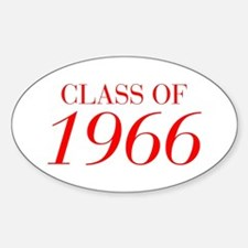 CLASS OF 1966-Bau red 501 Bumper Stickers