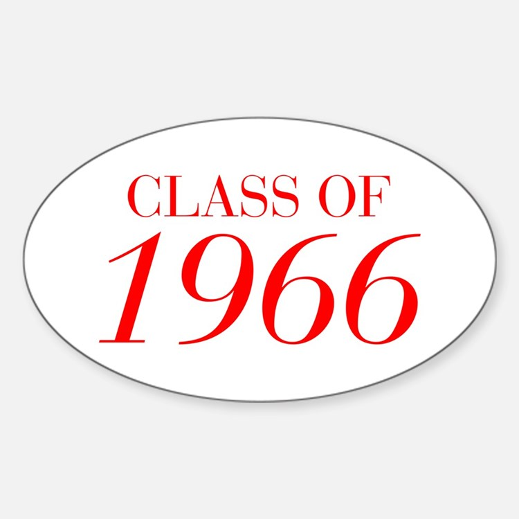 CLASS OF 1966-Bau red 501 Decal