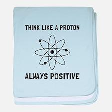 Proton Always Positive baby blanket