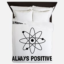 Proton Always Positive Queen Duvet