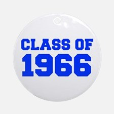 CLASS OF 1966-Fre blue 300 Ornament (Round)
