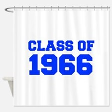 CLASS OF 1966-Fre blue 300 Shower Curtain