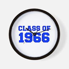 CLASS OF 1966-Fre blue 300 Wall Clock